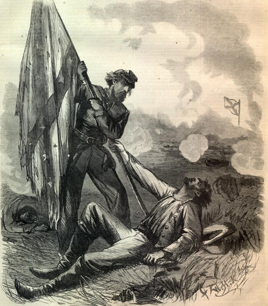 the dying confederate's last words | from the archives | civil war
